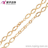 方法Man18k金張りのネックレスの宝石類(42381)