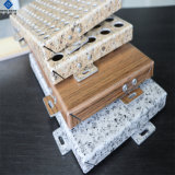 Couleur Flurocarbon revêtement solide en aluminium recouvert d'administration pour mur-rideau