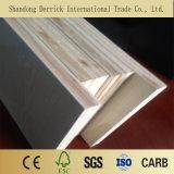 2mm-17mm precio de fábrica de madera contrachapada de placa de MDF melamina para mobiliario de madera