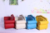 Insieme di cuoio colorato luminoso del sofà dell'unità di elaborazione del sofà di alta classe delle 2 sedi