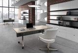 アルミニウムベースが付いている現代回転式オフィスの会合の椅子