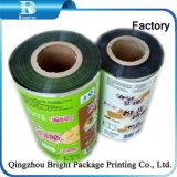 Rollos de película laminada de PET para el envasado de alimentos en polvo y limpiar
