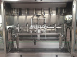 Máquina de rellenar en botella plástico automático del petróleo de la alta calidad