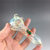 Труба руки трубы табака воска ЛИМАНДЫ ложки куря труб Китая оптовая стеклянная