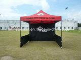 昇進の鉄骨フレームの容易な上りのテントのブースのための折るテントのおおい