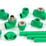 PPR Three-Way codo de tubo de plástico de los racores con material de protección del medio ambiente