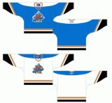 Customized Quebec Grande Liga de Hóquei Jr Moncton Alpines 1995-1996 Home e hóquei no gelo Jersey