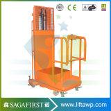 Plataforma de elevação vertical automática da máquina de solda