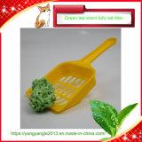 Fast agruparse y control de olores el té verde El Tofu cat litter