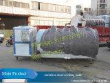 Réservoir de lait réfrigéré Réservoir de refroidissement au lait de 5000L pour lait frais