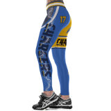 Hohe Taille 3D druckte Yoga-Sport-Abnützung-Gamaschen-Hosen 3040