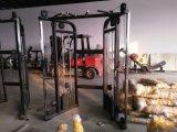 Máquina multifunções comercial Ajustável Duplo Pully, Ginásio Fitness Equipment