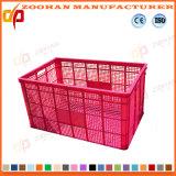 Cadre en plastique de conteneur d'étalage de fruits et légumes de prix bas (ZHtb40)