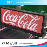 Haute luminosité couleur pleine 3G/4G/WiFi haut de Taxi Afficheur à LED pour l'affichage de publicité