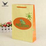 Delicado Precio bolsa de papel reciclado personalizado