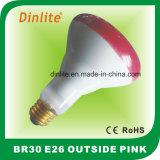 Br30-75W fora do bulbo cor-de-rosa do refletor