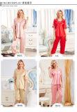 """Pijamas de seda Sy10306805 das mulheres """"sexy"""" do Nightwear da roupa de noite da roupa interior"""