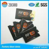 Gute Leistung RFID, die AluminiumKreditkarte-Halterung blockt