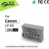 batteria della macchina fotografica di 1800mAh Digitahi per Canon Lp-E8
