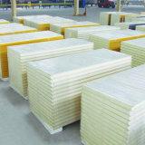 Les matériaux de construction en polyuréthane mur composite en acier de couleur panneau sandwich.