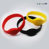 Festival imprimés personnalisés en silicone bracelets RFID pour le parti