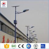 15W-100W는 IP65 거리, 도로를 위한 10m 폴란드를 가진 옥외 태양 LED 가로등을 방수 처리한다