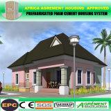 O cimento moderno da espuma 2 quartos pré-fabricou a HOME modular do Prefab das casas