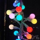 옥외 사용을%s 꿈 색깔 LED 끈 LED 크리스마스 불빛