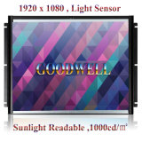 """Touch marco de metal de 21,5"""" pantalla LCD con entrada HDMI"""
