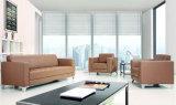 Schnittbüro-Möbel-Leder-Sofa eingestellt (DX522)