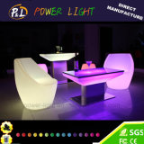 정원 가구에 의하여 점화되는 다채로운 RGB LED 시트 의자