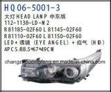 Lampada capa degli accessori automatici per la versione del Toyota Corolla S.U.A./versione 2014 OEM# 81110-02e60/81150-02e60 del Medio Oriente