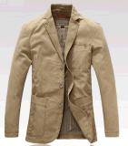 卸売OEM最新のデザイン人の秋のビジネスカジュアルの屋外の洗浄された綿のジャケット