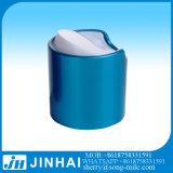 手の洗浄ビンのための24/415のアルミニウム青いディスク上の帽子