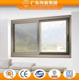 Perfil de aluminio de grado superior de la ventana corrediza de vidrio en la fábrica de Dali