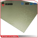 Новый продукт выбил панель плакирования деревянной отделки серии касания алюминиевую