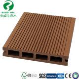 Decking composto plástico de madeira ao ar livre por atacado da fábrica WPC