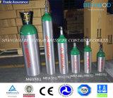 DOT3al tamaño de la MD estándar 2,75l Cilindro de oxígeno de aluminio