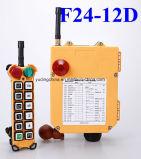 12 comandi senza fili F24-12D di Industtrial Radio Remote di doppia velocità del tasto