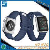 シリコーンのスマートなブレスレットの置換はAppleの腕時計のための時計バンドの手首を紐で縛る