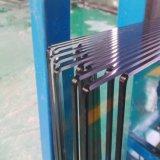 4-8mm sur plat panneau en verre trempé pour meubles