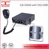 Warnungs-elektronische Sirene des Auto-12V mit dünnem Lautsprecher 100W (CJB-100AD)
