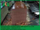 Coloration Bois de placage Laminés moulé HDF porte de la peau