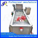 Lavadora industrial de la fruta de la máquina de la limpieza vegetal de la arandela automática