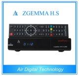 完全なチャネルのメディアプレイヤーが付いているCPU DVB-S2 1のチューナーのZgemma高いH.S HDTVのサテライトレシーバ