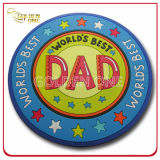 Förderndes Gift Customized Fashion Colorful 3D Soft PVC Coaster