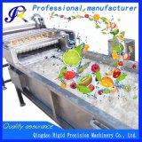 Máquina de lavar industrial da fruta da máquina da limpeza vegetal de arruela automática