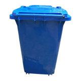 120L 중국 트레일러를 가진 도매 옥외 플라스틱 쓰레기통