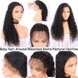 150% 조밀도 흑인 여성을%s 비꼬인 꼬부라진 사람의 모발 가발
