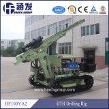 Modèle de véhicule à chenilles en acier HF100ya2 Appareil de forage de l'air de distribution par SRD